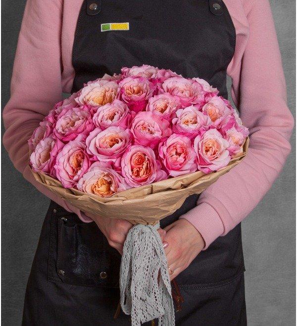 Букет-соло пионовидных роз Miyabi (15,25,35,51,75 или 101) – фото № 1
