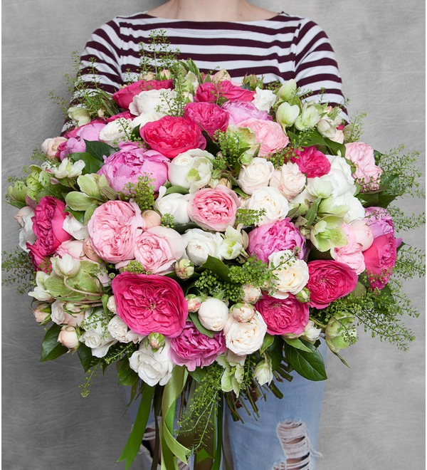 Букет Пионовидные розы – фото № 1