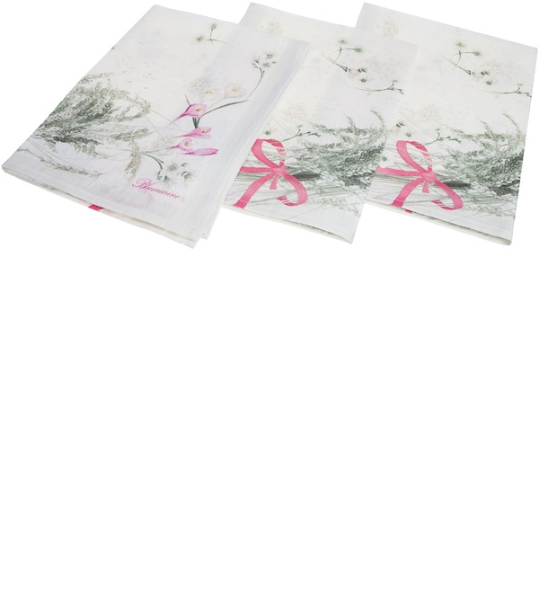 Комплект 3х полотенец Blumarine – фото № 2