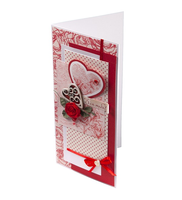 Handmade greeting card For you! – photo #3