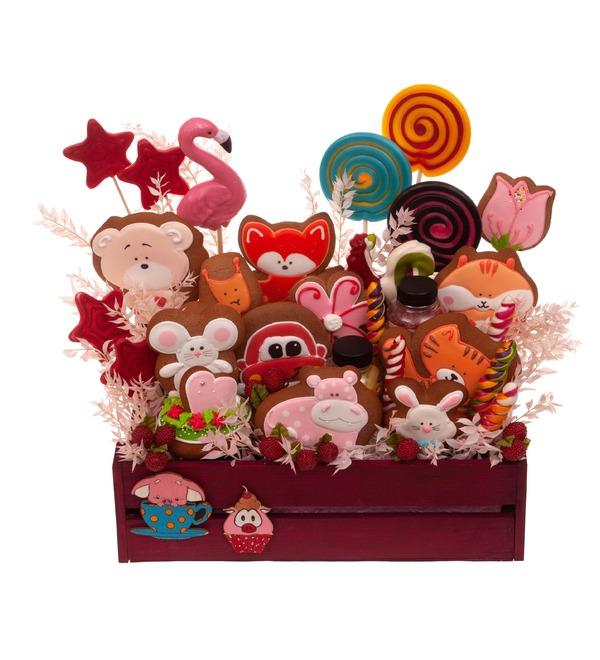Подарочное кашпо Любимые сладости – фото № 5