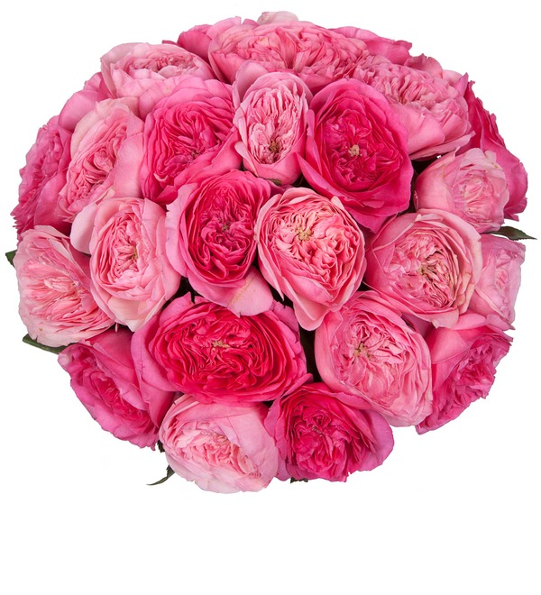 Bouquet of pion-shaped roses For the most beautiful! – photo #5