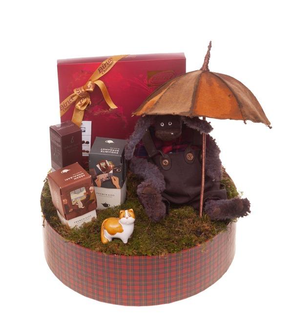 Подарочная коробка Под зонтом – фото № 5