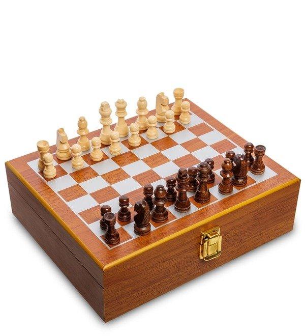 Подарочный набор фляжка 500 мл с шахматами Лучший охотник – фото № 3