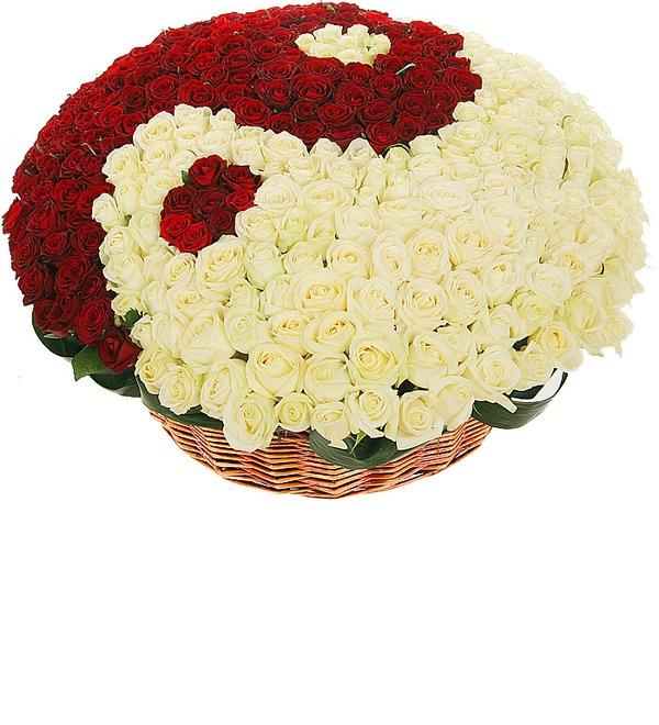 Композиция Ты и Я (333 розы) – фото № 5
