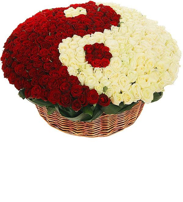 Композиция Ты и Я (333 розы) – фото № 4