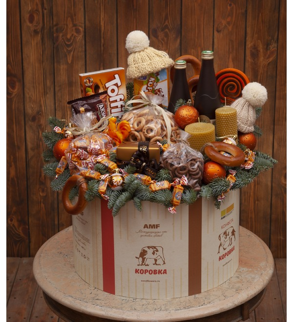 Gift box Cow – photo #1
