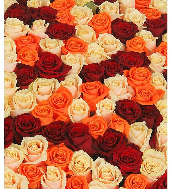 Композиция из роз В доказательство любви... – фото № 5