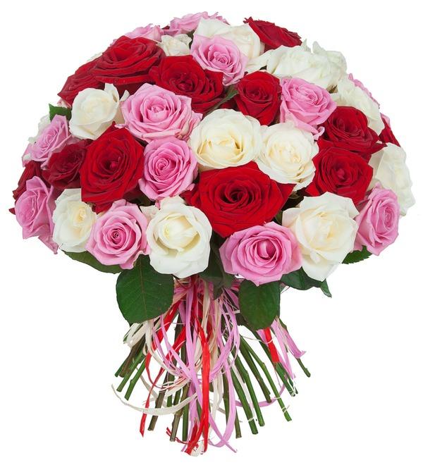 Букет роз Ягодное лето (35, 51 или 101) – фото № 1