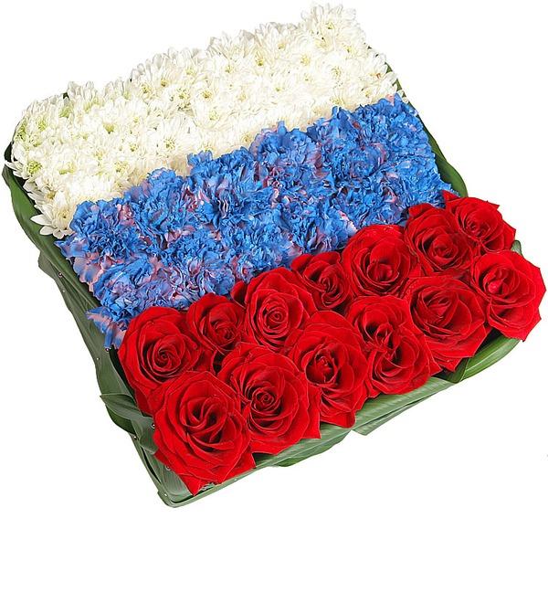 Композиция Флаг России – фото № 4
