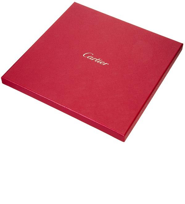 Шелковый платок Cartier Строгая классика (Франция, 90х90 см) – фото № 2