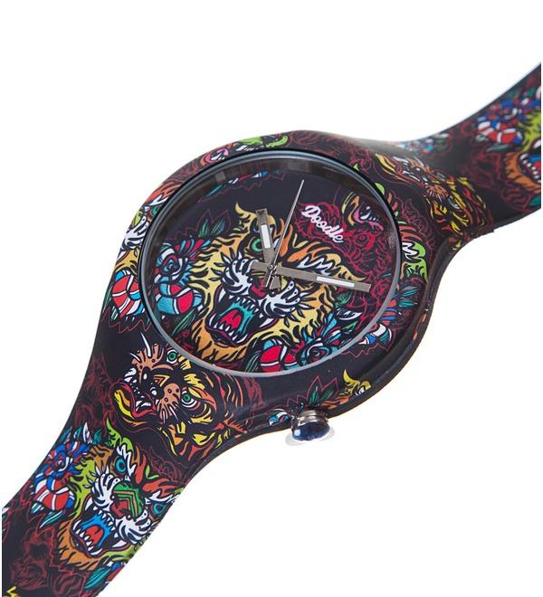 Часы Doodle Восточный тигр – фото № 2