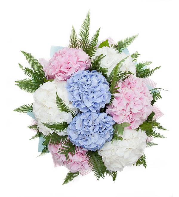 Bouquet of hydrangeas Soaring in the Clouds – photo #3