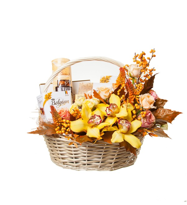 Подарочная корзина Золотая вуаль – фото № 4