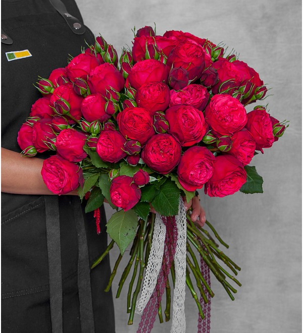 Букет из пионовидных роз Piano – фото № 1