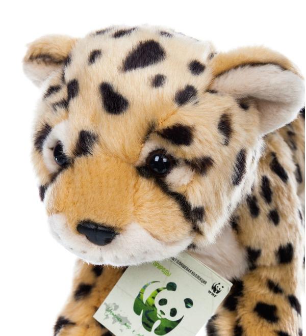 Мягкая игрушка Леопард WWF (25 см) – фото № 2