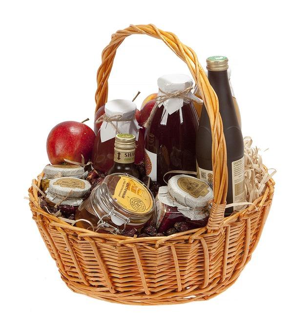 Подарочная корзина Медовые яблоки – фото № 5