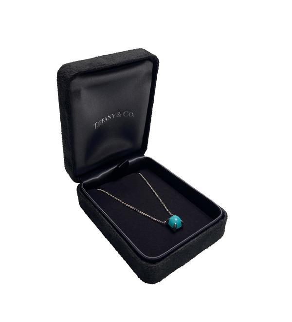Tiffany amazonite necklace – photo #1