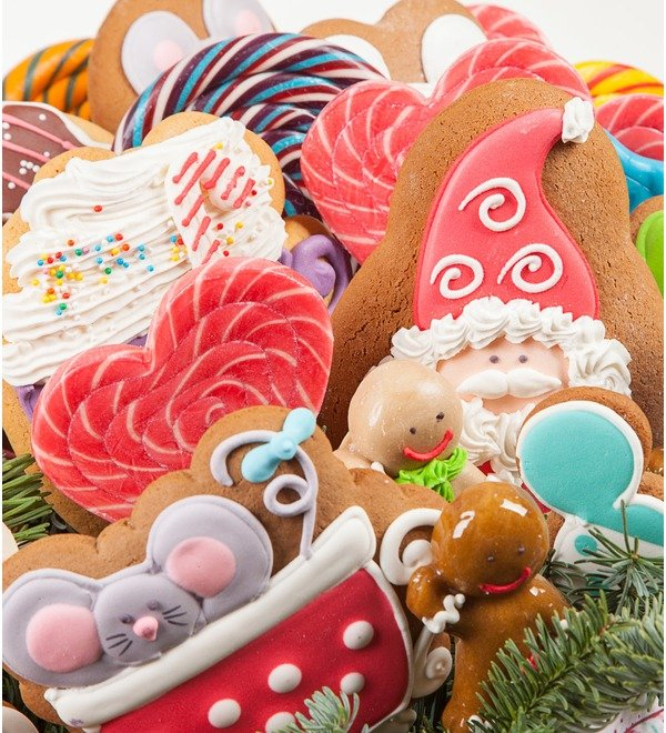 Подарочная коробка Запах пирожных – фото № 3