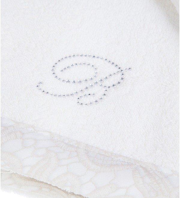 Set of 2 towels Macrame Blumarine – photo #2