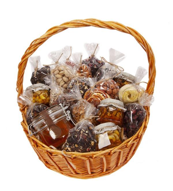 Подарочная корзина Медовые орехи – фото № 5