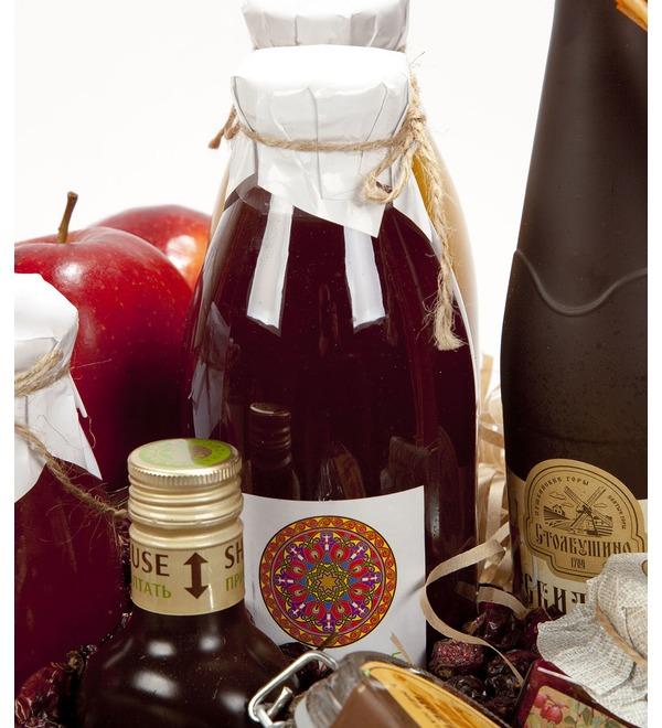 Подарочная корзина Медовые яблоки – фото № 3