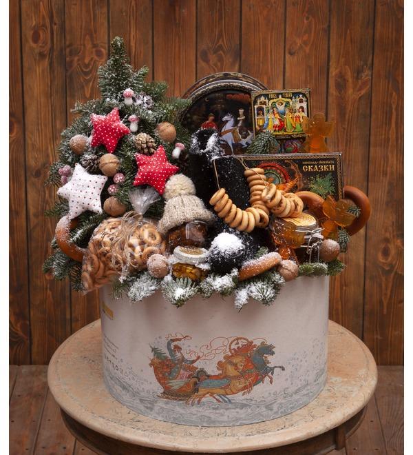 Подарочная коробка Тройка лошадей – фото № 1