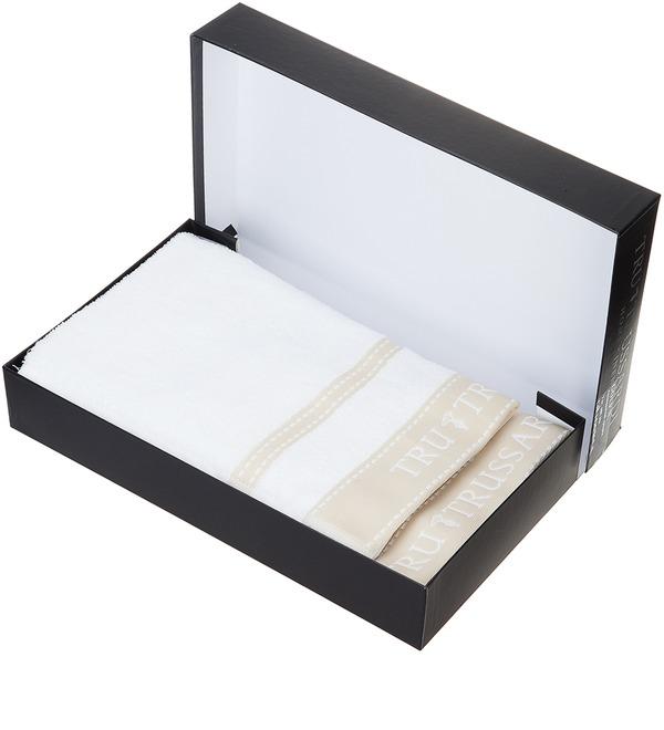 Комплект из 2-х полотенец TRUSSARDI – фото № 1