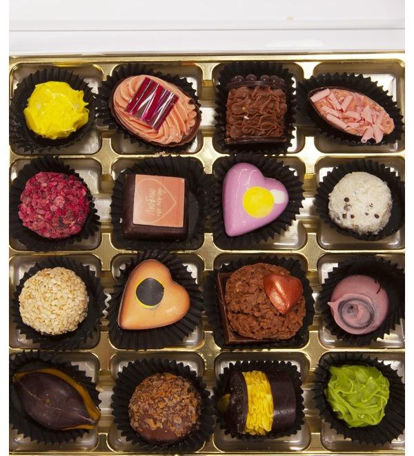 Конфеты ручной работы из бельгийского шоколада Люблю не могу – фото № 3