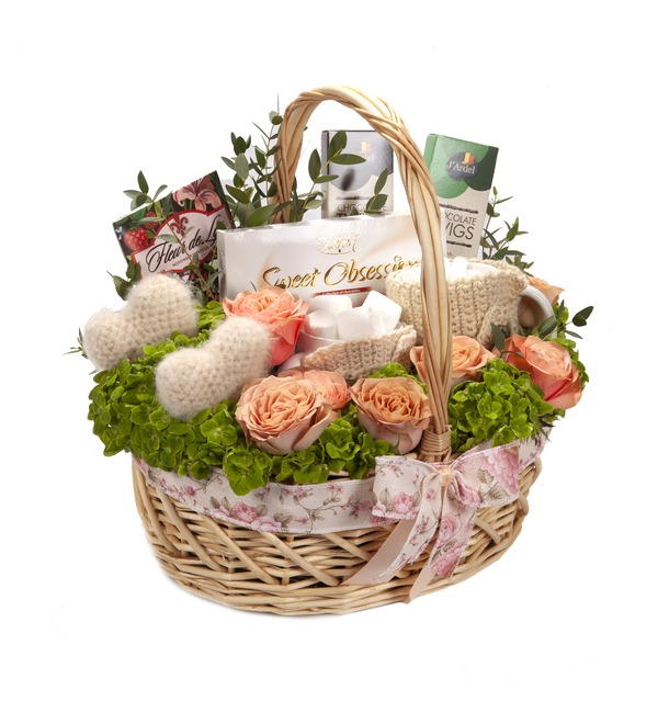 Gift basket Motive of love – photo #5