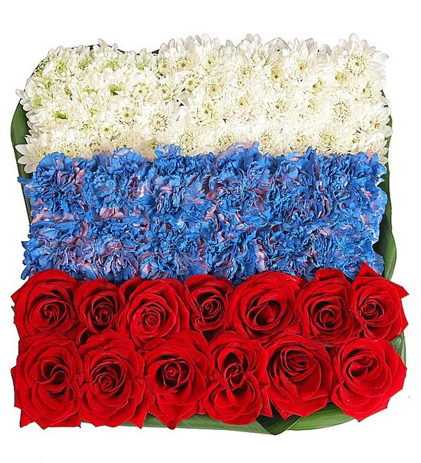 Композиция Флаг России – фото № 2