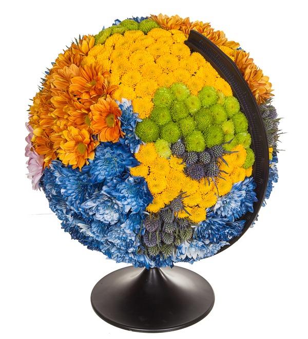 Композиция Глобус – фото № 4