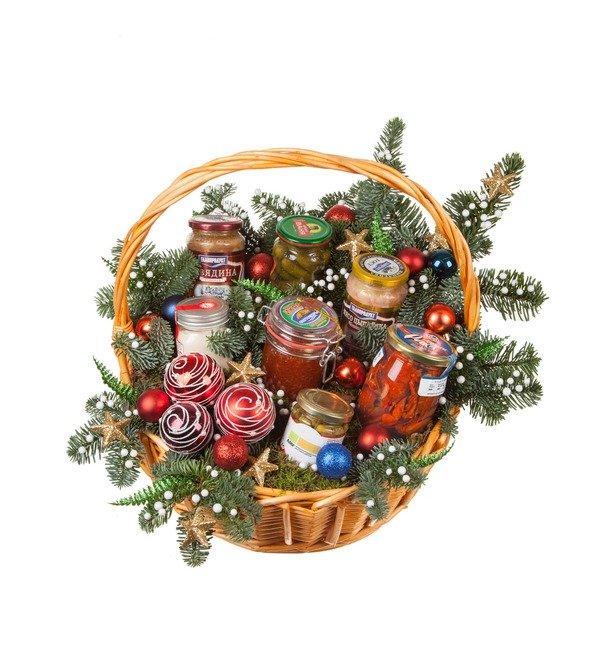 Подарочная корзина Старинный рецепт оливье – фото № 5