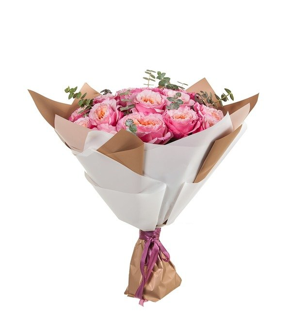 Букет Облако счастья (11, 15 или 19 роз) – фото № 4