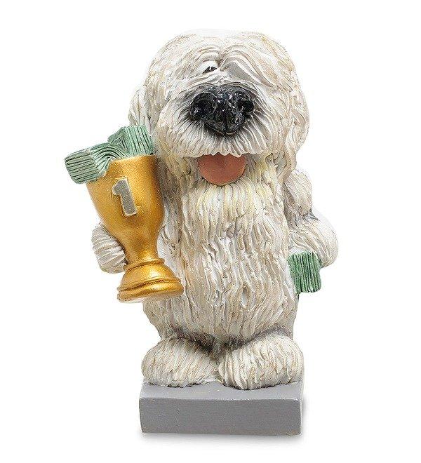 Статуэтка Собака Комондор Желаю блестящих побед (W.Stratford) – фото № 1