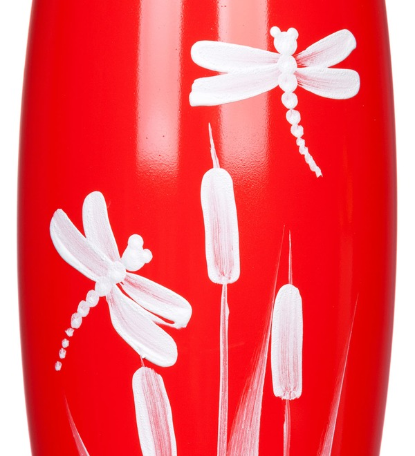 Vase decorated Dragonfly – photo #2