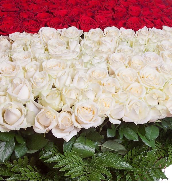Композиция Мое сердце - тебе (1001 роза) – фото № 4