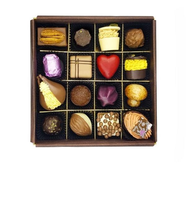 Конфеты ручной работы из бельгийского шоколада Париж – фото № 1
