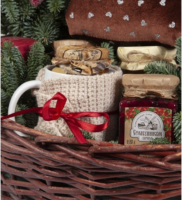Подарочная корзина Подарки от гномика – фото № 3