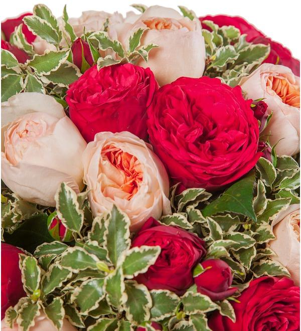 Букет из пионовидных роз Единственная (15, 25 или 51) – фото № 3