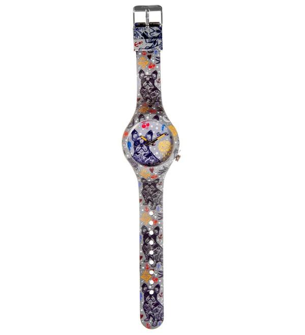 Часы Doodle Французский бульдог – фото № 3
