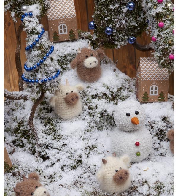 Композиция Снежные горки – фото № 4