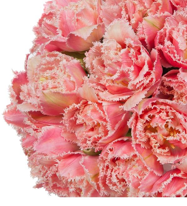 Букет-соло эксклюзивных тюльпанов Queensland (15,25,35,51,75 или 101) – фото № 3