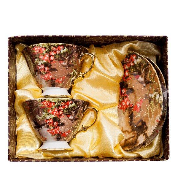 Чайный набор на 2 персоны Дольче Вита (Pavone) – фото № 2