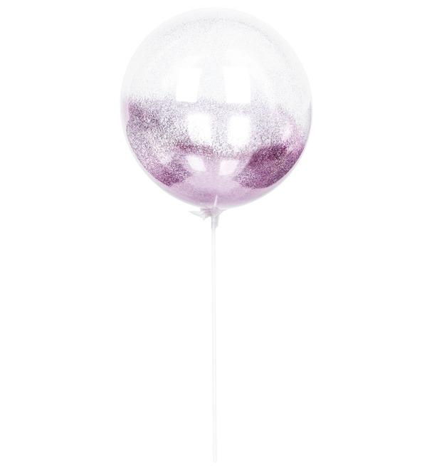 Эксклюзивный воздушный шар с глиттером – фото № 3