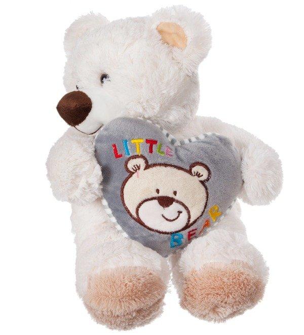 Soft toy Bear Lawrence (36 cm) – photo #3