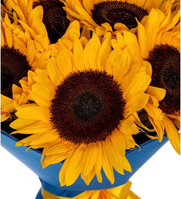 Букет-соло Солнце в подарок (9,15,25,35 или 51) – фото № 2