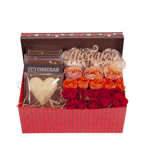 Подарочная коробка Симфония любви – фото № 4