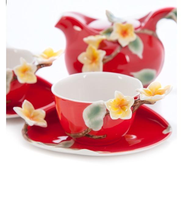 Чайный набор на 2 персоны Франжипан Pavone – фото № 2