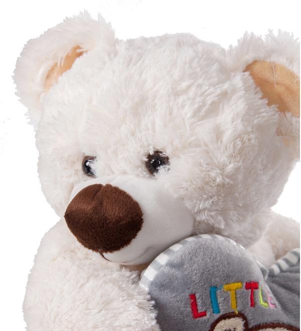 Soft toy Bear Lawrence (36 cm) – photo #2